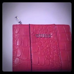 Orange Crock Guess Wallet